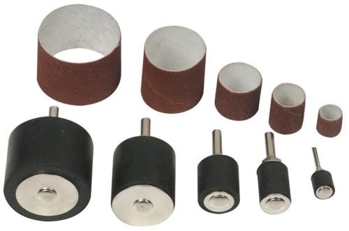 Набор цилиндрических шлифовальных шкурок с держателями