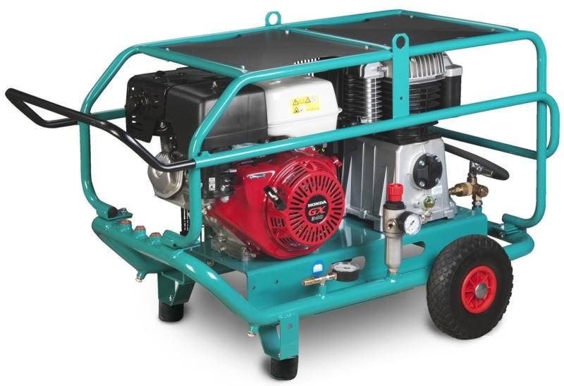 Передвижной поршневый компрессор Aircar BAU 650B Pro
