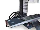 Стол станка и привод по оси X станка с ЧПУ BF30 CNC
