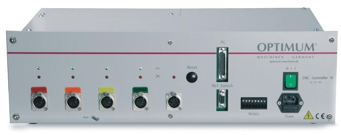 Контроллер ЧПУ CNC-Controller IV - вид спереди