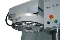 Станок F100 TC-CNC: автоматический сменщик инструмента
