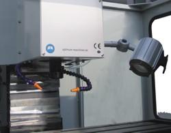 Станок M4 CNC: станочный светильник