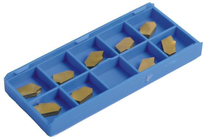 Сменные пластины для отрезных резцов