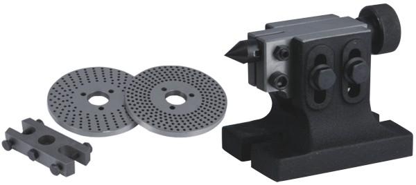 Комплект поставки универсальной делительной головки Optimum TA 125
