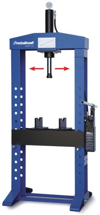 Пресс гидравлический Metallkraft WPP 15