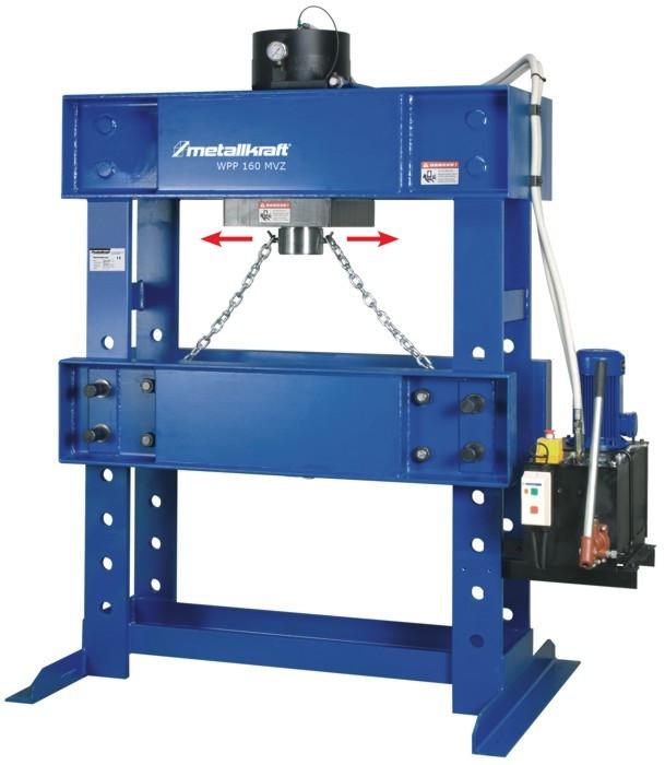 Пресс гидравлический Metallkraft WPP 160MBK